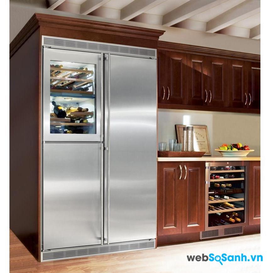 Cần chọn được tủ lạnh phù hợp với bếp
