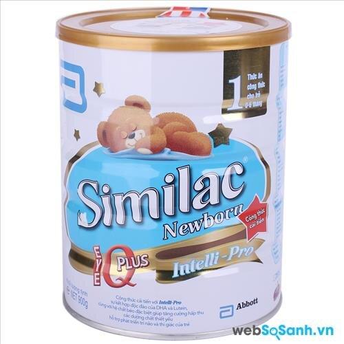Sữa bột Abbott Similac Newborn IQ 1 (nguồn: internet)