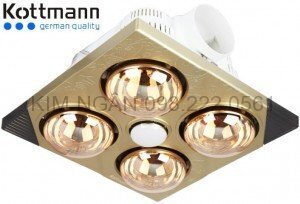 Đèn sưởi nhà tắm Kottmann K4BT - 4 bóng