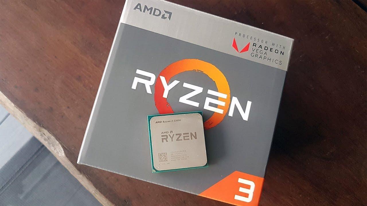 Chip AMD Ryzen 3