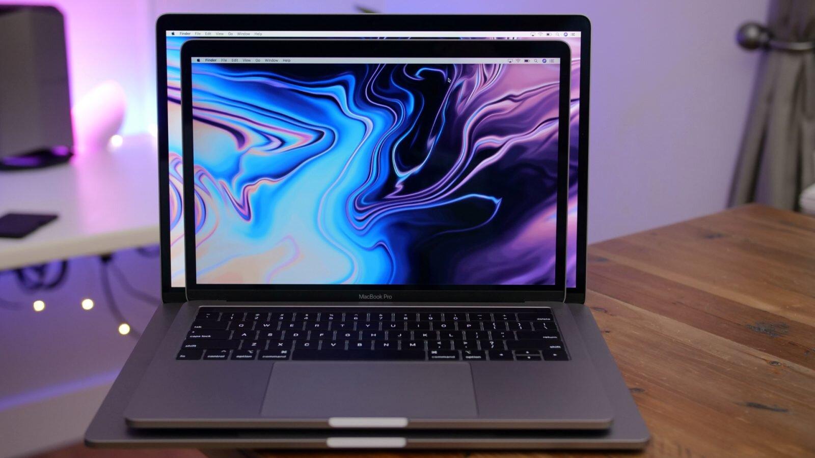 Macbook pro năm 2018