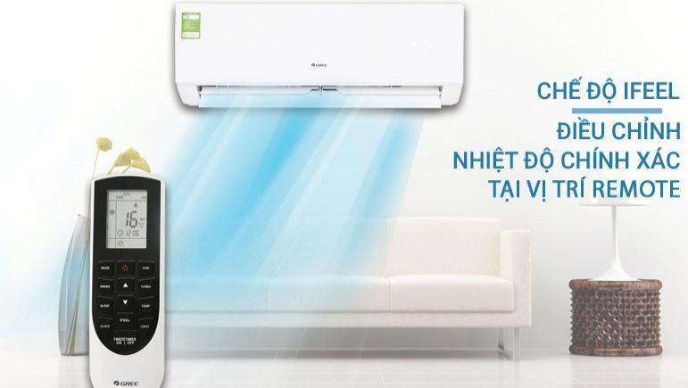 Điều hòa máy lạnh Gree 1 HP GWC09QB-K3NNB2H