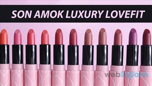Son môi Amok Luxury Lovefit