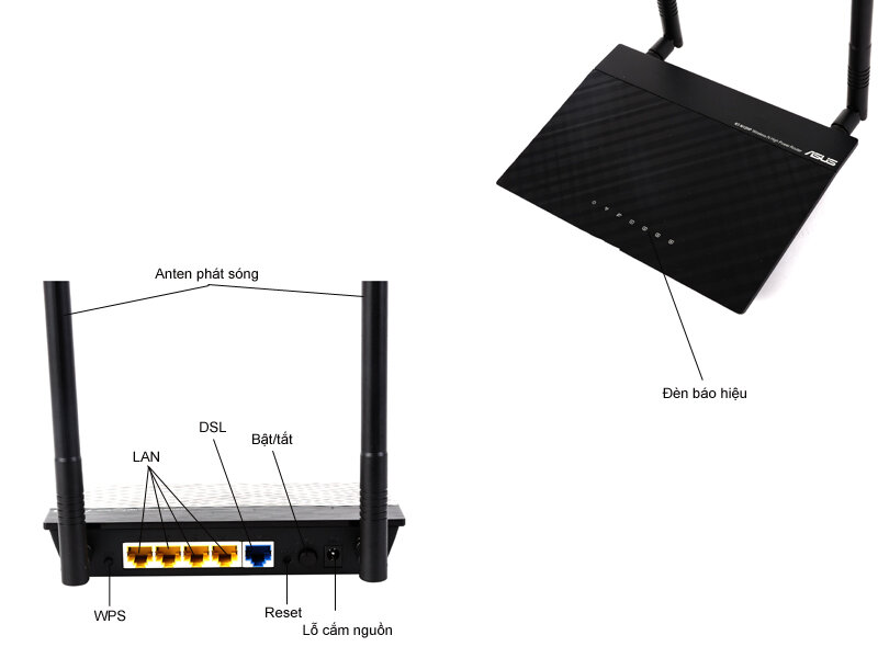Modem cáp quang ASUS RT AC68U