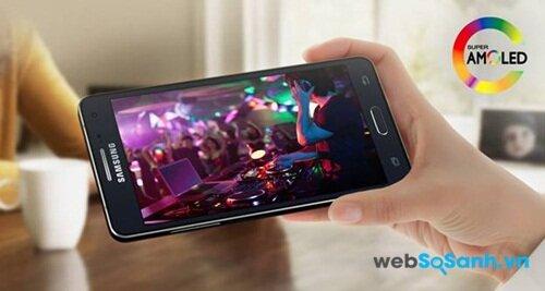 Samsung luôn sử dụng màn hình Super Amoled cho các mẫu điện thoại của mình