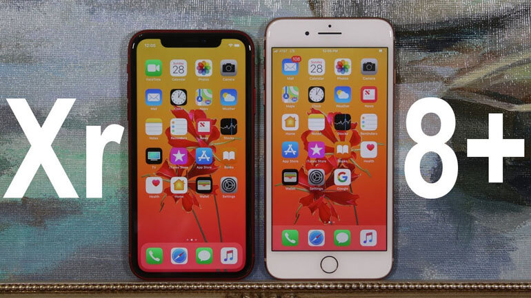 iphone xr vá iphone 8 plus
