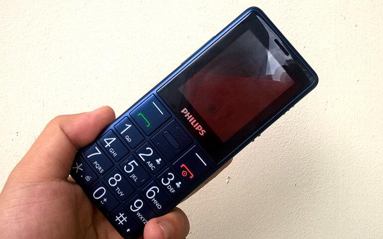 Sản phẩm điện thoại Philips Xenium E311 cho người già