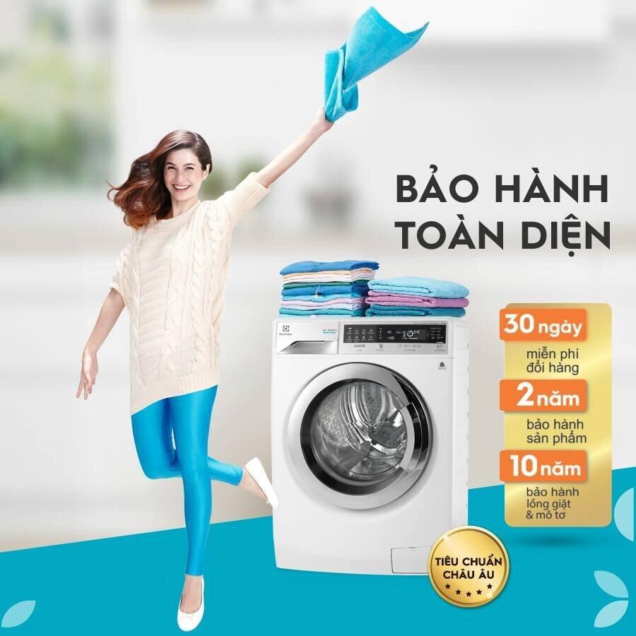 Các sản phẩm máy giặt đều được bảo hành chính hãng