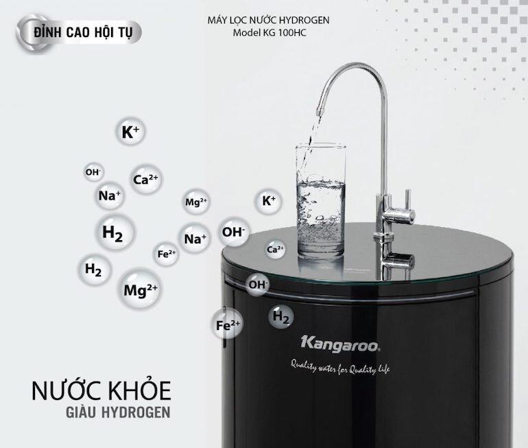 Máy lọc nước Kangaroo KG100HC 10 lõi – cao cấp