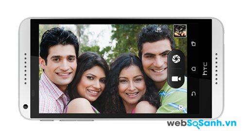 HTC Desire 816G sẽ đem đến cho bạn những bức ảnh tuyệt vời với camera độ phân giải cao
