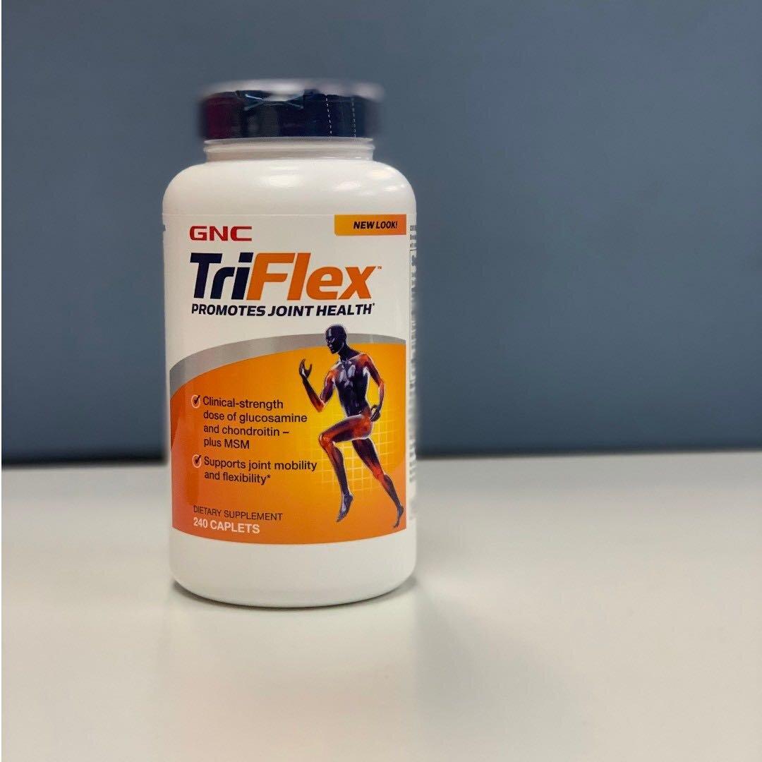 GNC Triflex Promotes Joint Health