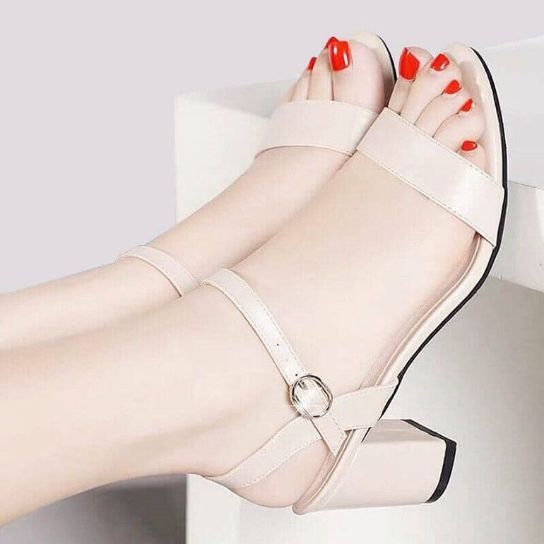 giày cao gót nữ 5cm sandal