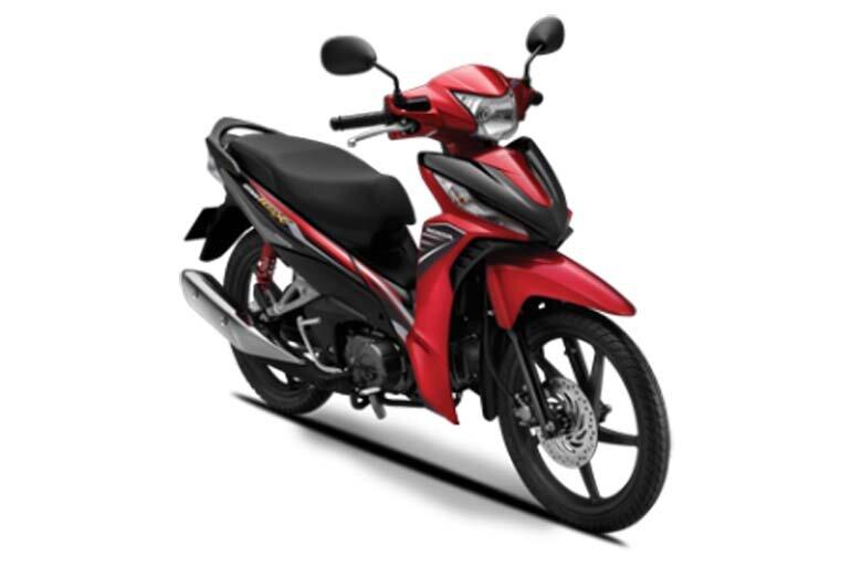 Honda Wave RSX màu đỏ đen