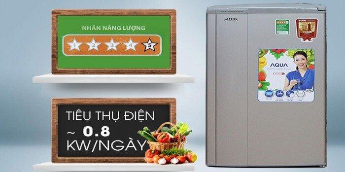 Tủ lạnh Aqua 90l có độ bền cao và hoạt động ổn định
