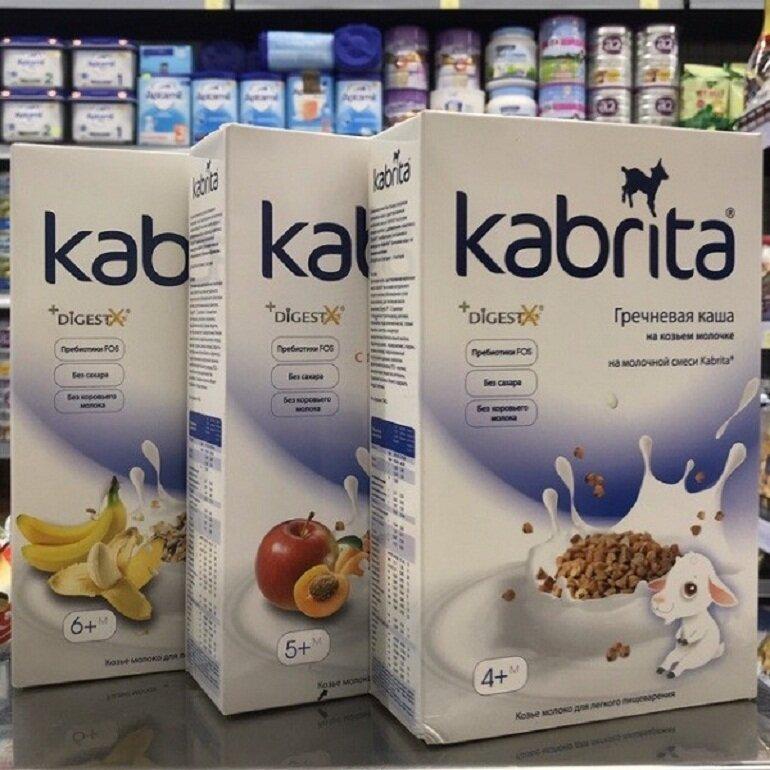 Nên mua bột ăn dặm Kabrita ở địa chỉ uy tín