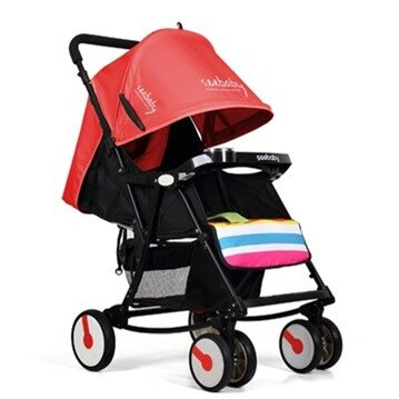 Xe đẩy trẻ em bập bênh SeeBaby Q4