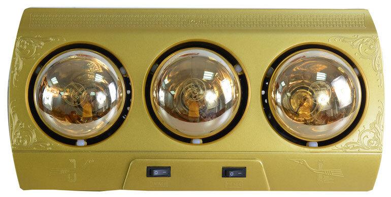 Đèn sưởi nhà tắm 3 bóng Kohn KN03G 825W