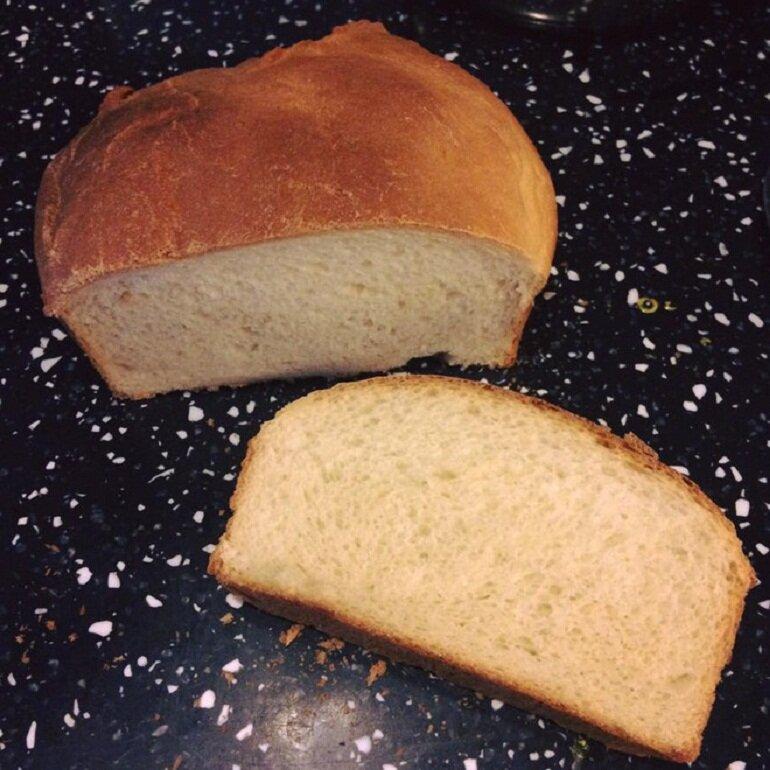 Bánh mì làm từ sữa mẹ cho bé 8 tháng
