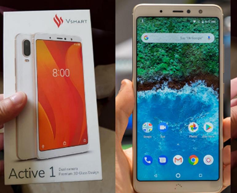 Đánh giá review smartphoneVsmart Active 1