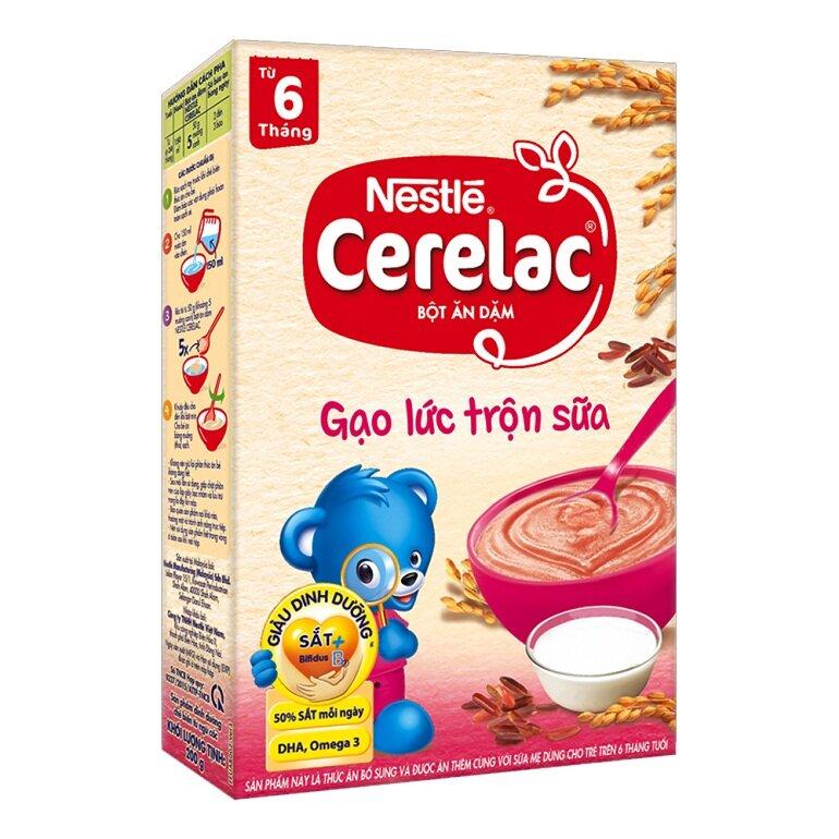 Bột ăn dặm Nestle Cerelac