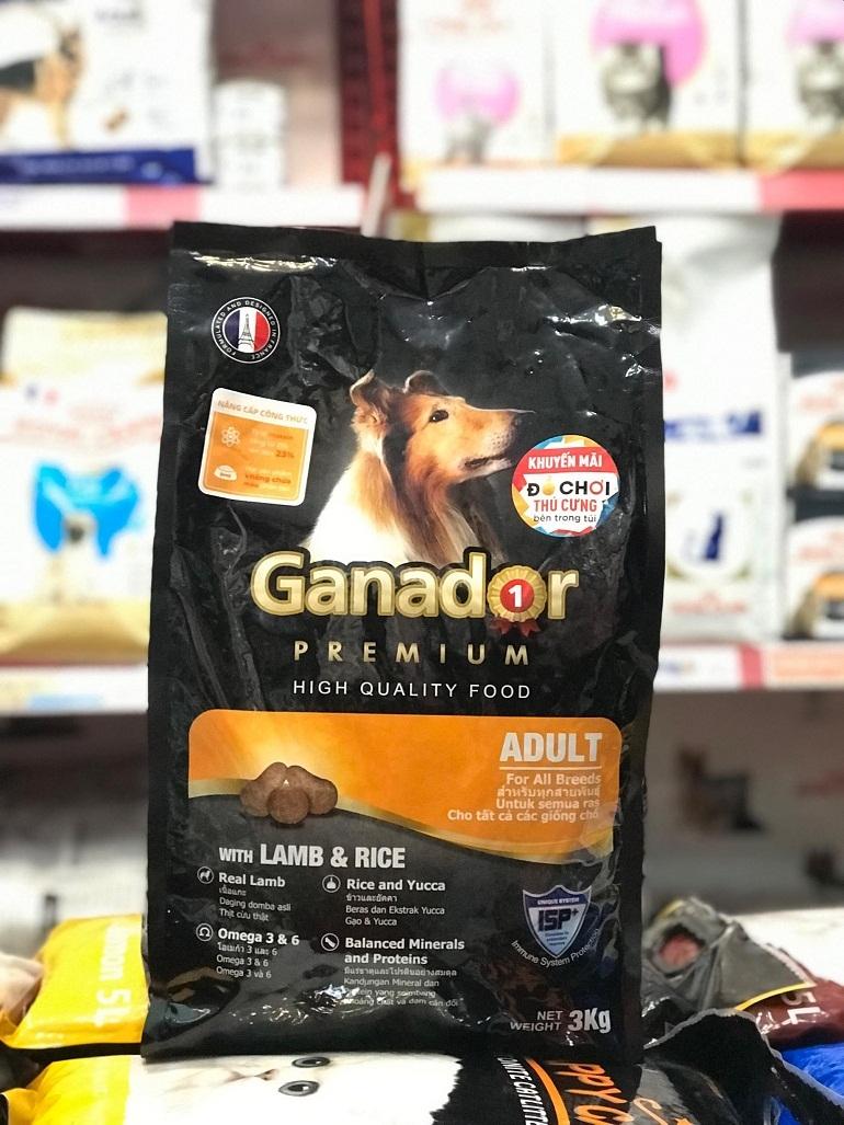 Nên mua thức ăn cho chó Ganador ở các địa chỉ bán hàng uy tín