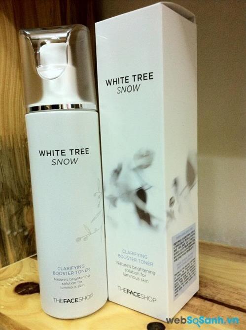 White Tree Snow Clarifying Booster Toner