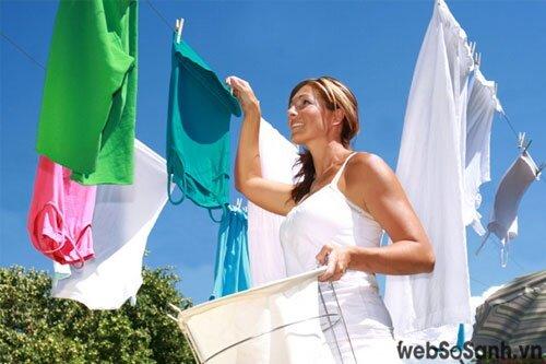 Sanyo ASW-S90VT giặt sạch hiệu quả (nguồn: internet)