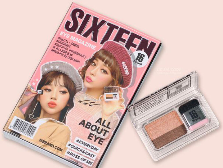 Phấn mắt 16 Brand Eye Magazine All About Eye