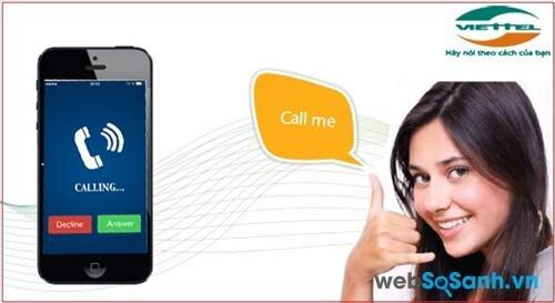 Dịch vụ đề nghị gọi lại Viettel