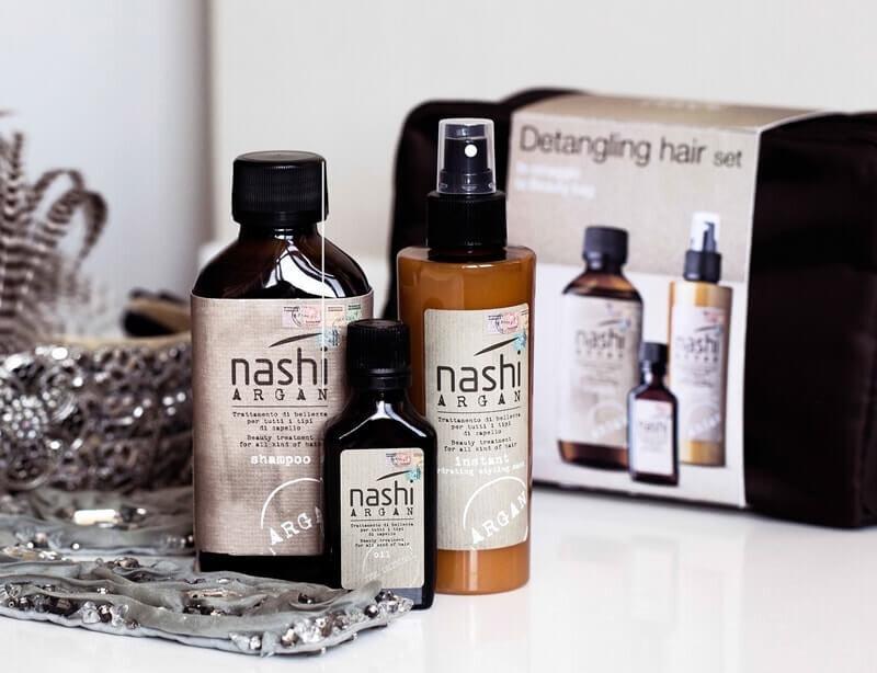 Tinh dầu dưỡng tóc xoăn Nashi Argan