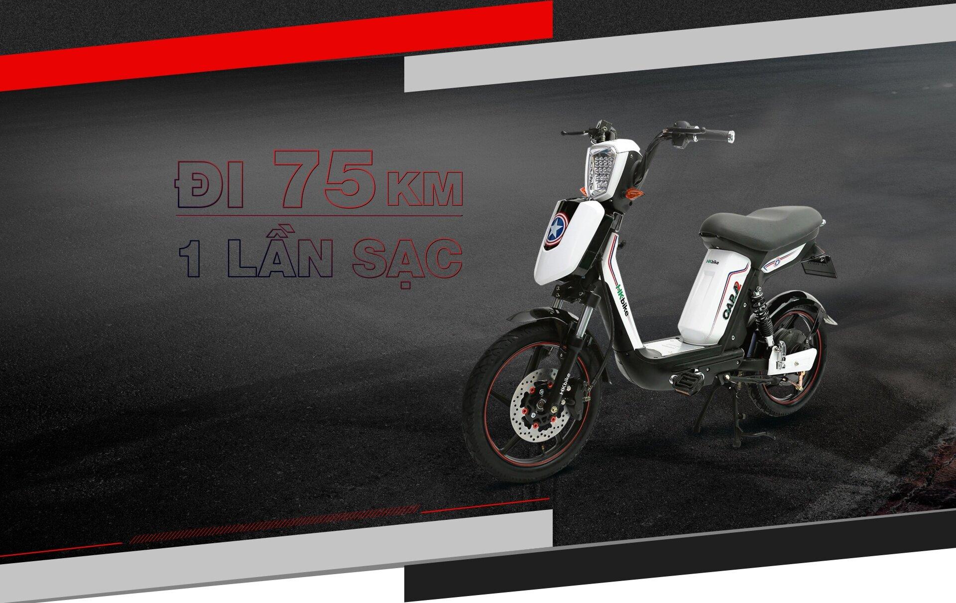 Xe đạp điện Pega Cap A2