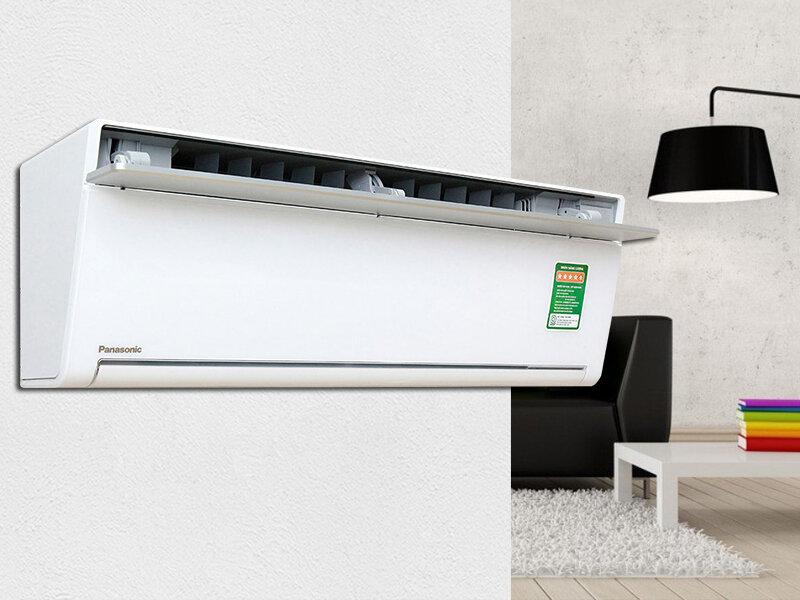 Máy lạnh Panasonic với thiết kế tinh tế