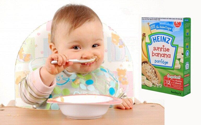 Bột ăn dặm Heinz có xuất xứ từ Nga