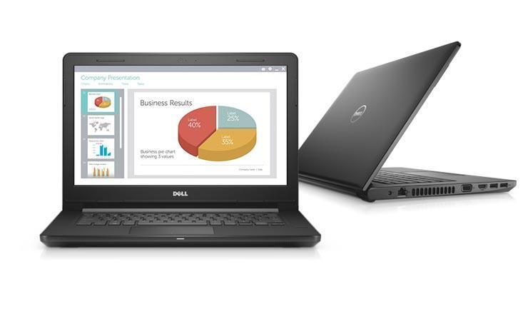 Mẫu laptop Dell core i5 mỏng nhẹ có mức giá tầm trung