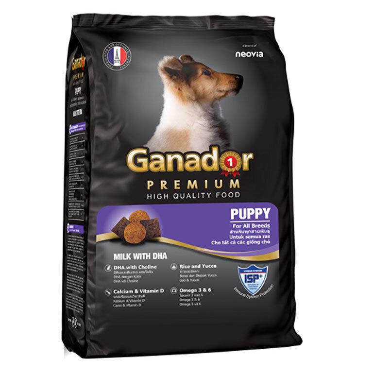 Thức ăn khô Ganador dành cho chó con