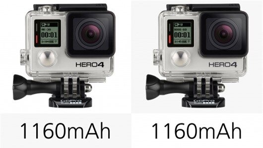 If you're shooting 4K 30fps video on the Hero4 Black, you'll only get 1hr 5m of shooting b...