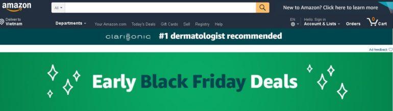 Amazon Black Friday Deals Week (19/11-23/11/2018)