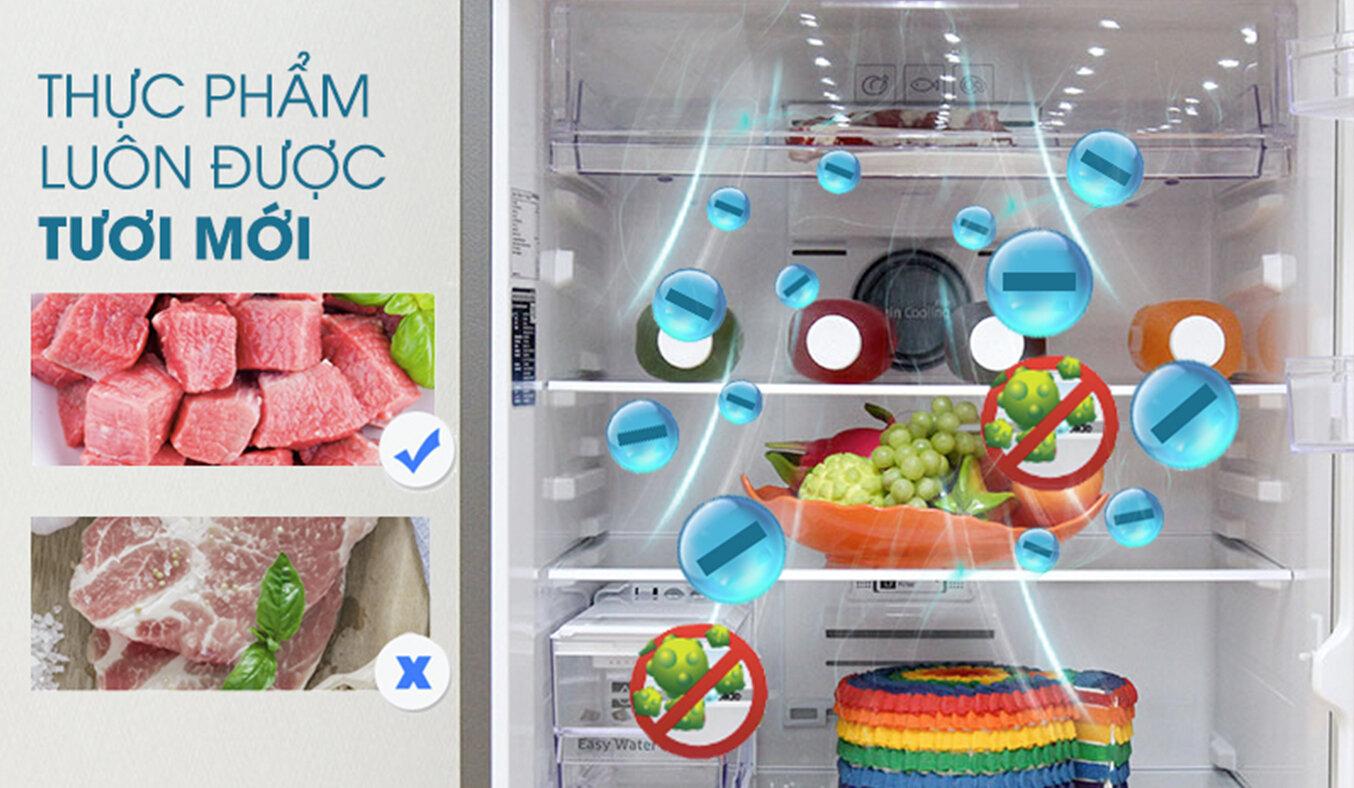 Hai dàn lạnh twin cooling plus trong tủ lạnh Electrolux