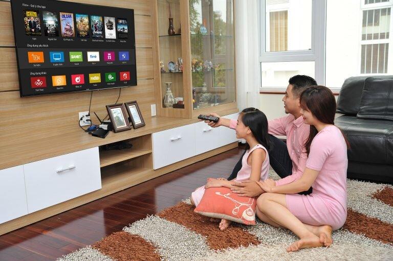 Xác nhận loại truyền hình để dò kênh Tivi