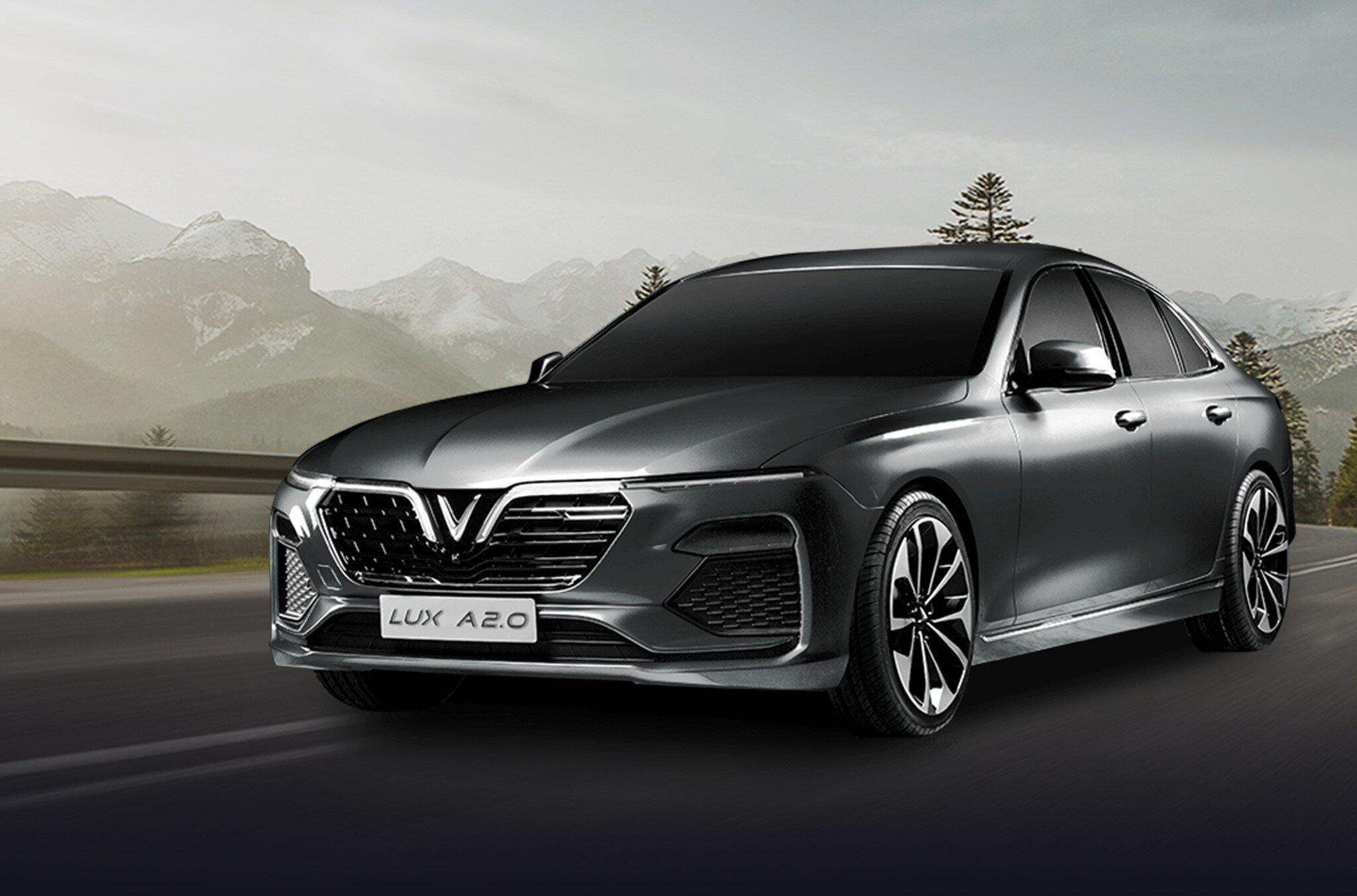 Xe màu xám thích hợp với người có mệnh Thổ - VinFast Lux A2.0 có những màu gì