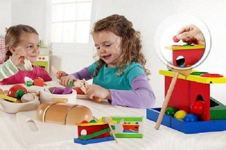 Đồ chơi nấu ăn kích thích phát triển tư duy và trí não của bé hiệu quả.