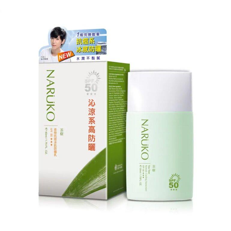 Kem chống nắng Tea Tree Refresh Cooling Sunscreen của Naruko