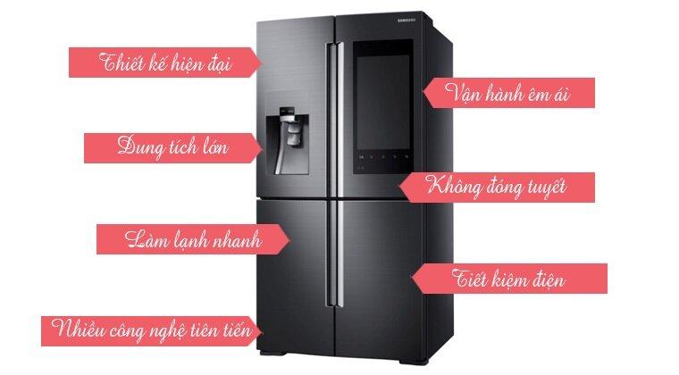 Các loại tủ lạnh hiện nay được thiết kế ngày càng hiện đại