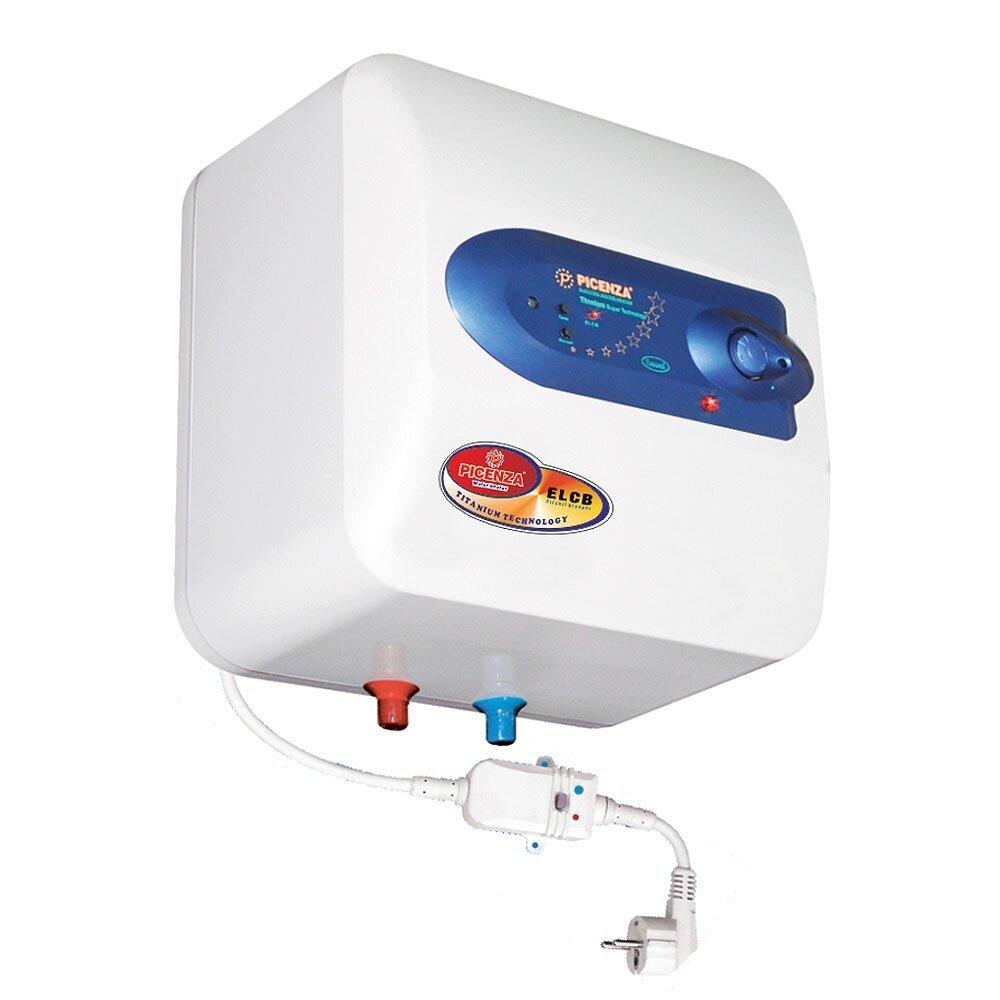 Bình tắm nóng lạnh gián tiếp Picenza S20E - 2500W, 20 lít, chống giật