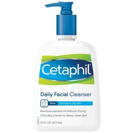sữa rửa mặt cho da dầu cetaphil daily facial cleanser