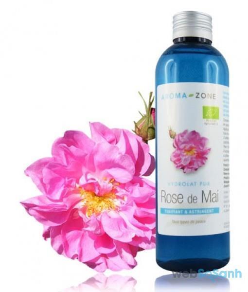 nước hoa hồng tươi Aroma Zone Rose de Mai review