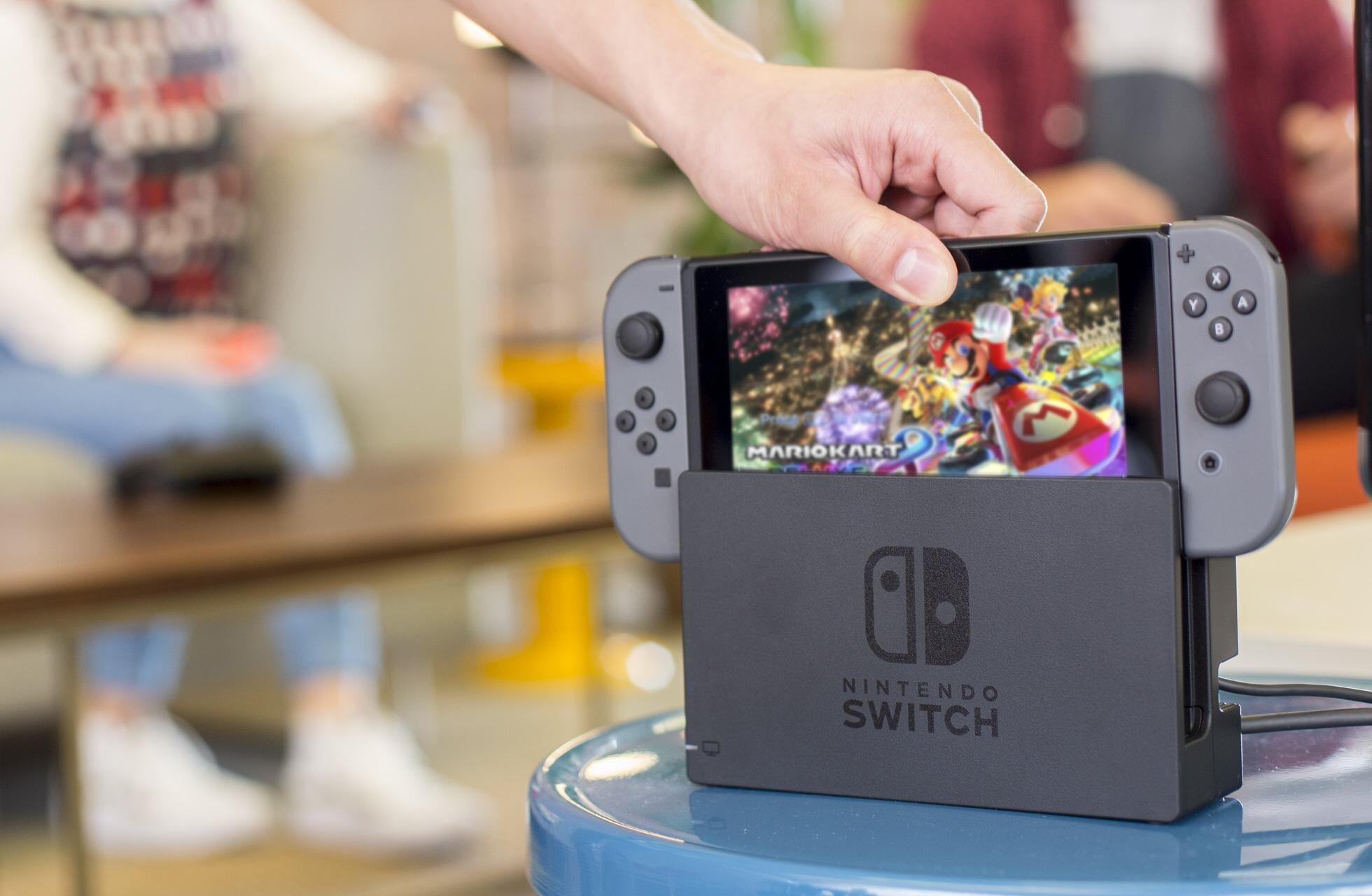 Dòng máy chơi game Nintendo Switch mới nhất