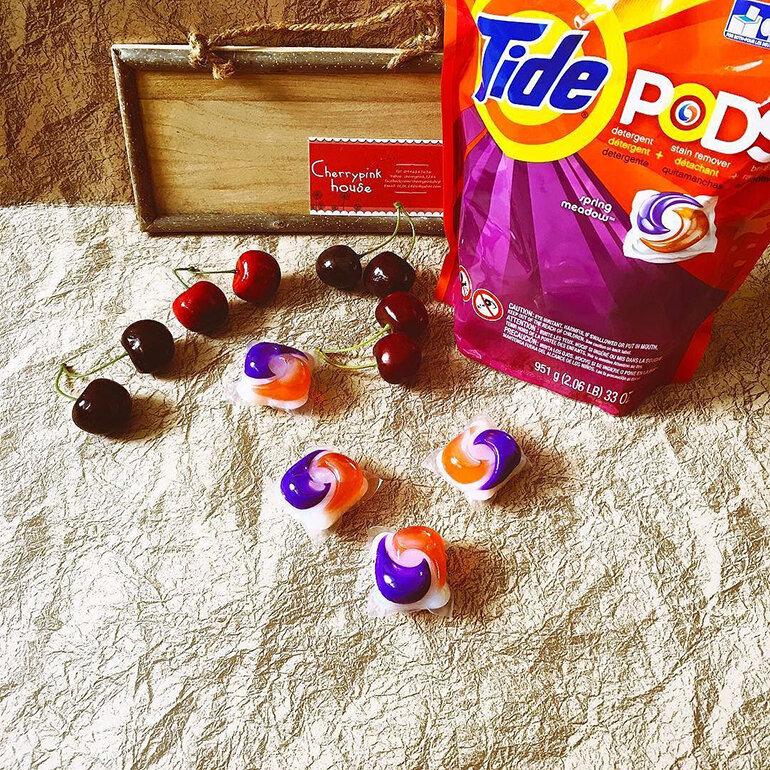 Sản phẩm viên giặt Tide Pods đến từ Mỹ cho hiệu quả giặt quần áo hoàn hảo