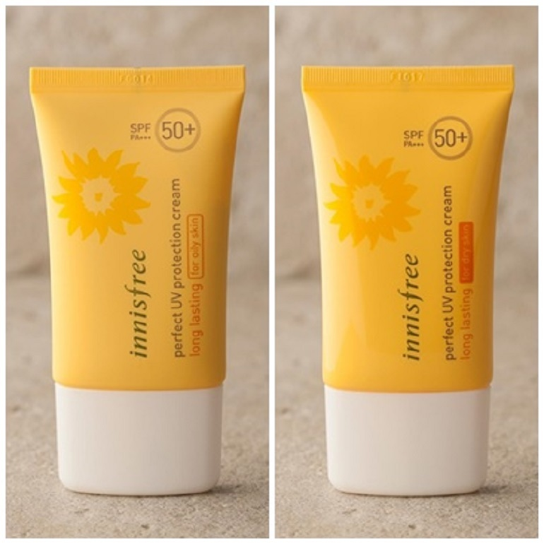 Innisfree Perfect UV Protection Cream Long Lasting For Oily Skin/Dry Skin