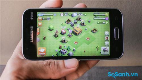 Trải nghiệm game trên điện thoại Samsung Galaxy J1 Mini